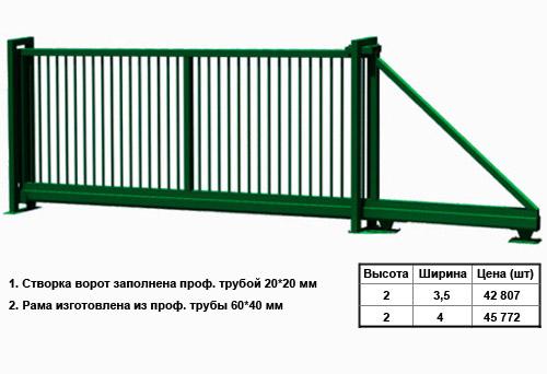 Ворота техно откатные ворота коломна